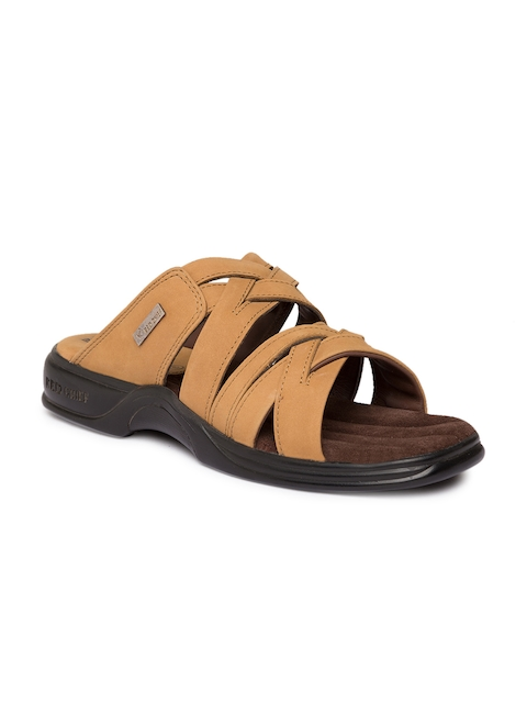 Red Chief Men Brown Comfort Sandals  available at myntra for Rs.2095