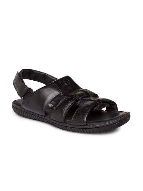 Red Chief Men Black Comfort Sandals  available at myntra for Rs.2095
