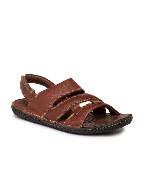 Red Chief Men Tan Brown Comfort Sandals  available at myntra for Rs.2095