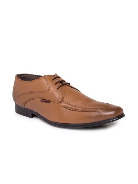 Red Chief Men Tan Brown Leather Formal Shoes