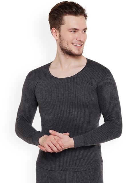 NEVA Men Charcoal Grey Thermal Top