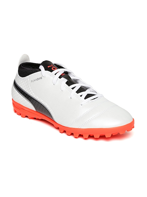 Puma Unisex Off-White Football Shoes  available at myntra for Rs.1799