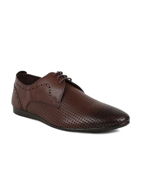 Joe Shu Men Brown Formal Shoes