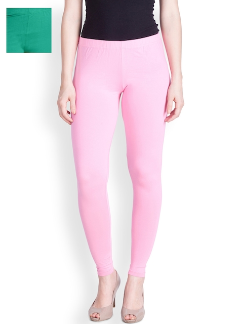 Lux Lyra Red Pack of 2 Ankle-Length Leggings  available at myntra for Rs.616