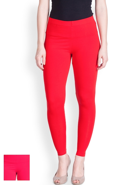 Lux Lyra Pack of 2 Churidar Leggings  available at myntra for Rs.616
