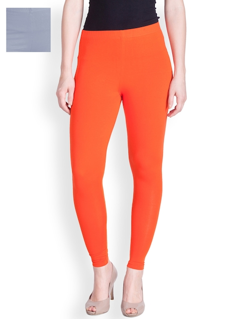 Lux Lyra Pack of 2 Ankle-Length Leggings  available at myntra for Rs.616