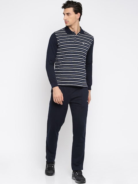 Monte Carlo Navy & White Striped Tracksuit