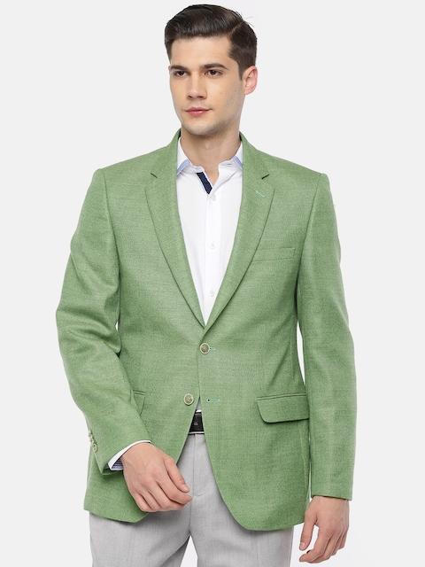4bdaa11081dd Raymond Green Tailored Contemporary Fit Single-Breasted Woollen Formal  Blazer