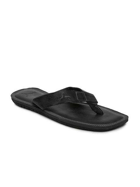 Puma Men Black Java Paramount Sandals