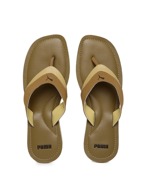 Puma Men Brown Caper Sandals