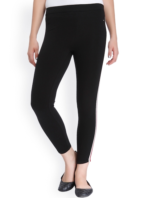 ONLY Women Black Solid Trousers