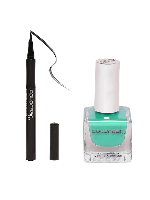 Colorbar Ultimate Black Eyeliner & Nail Lacquer Set