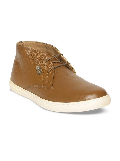Red Tape Men Tan Brown Flat Boots