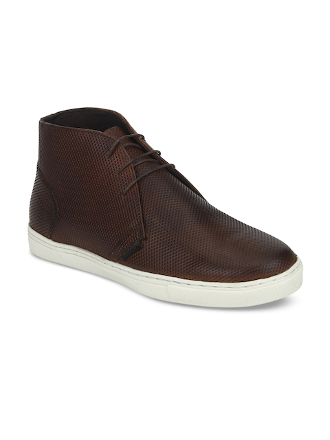 Red Tape Men Brown Flat Boots