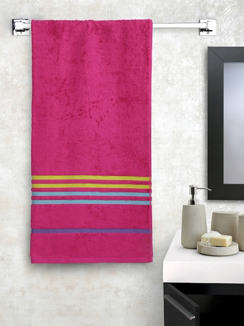 Portico New York Pink Cotton 550 GSM Bath Towel