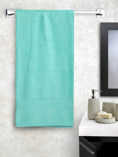 Portico New York Turquoise Blue Cotton 550 GSM Bath Towel