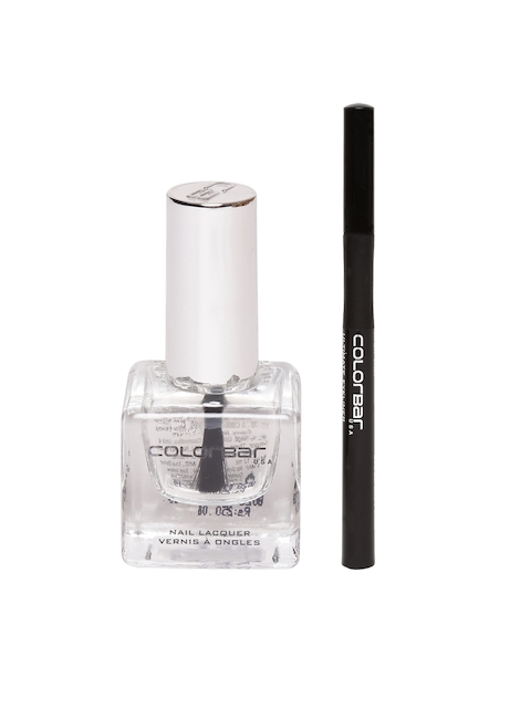 Colorbar Top Coat Luxe Nail Lacquer 108 & Eyeleiner Set