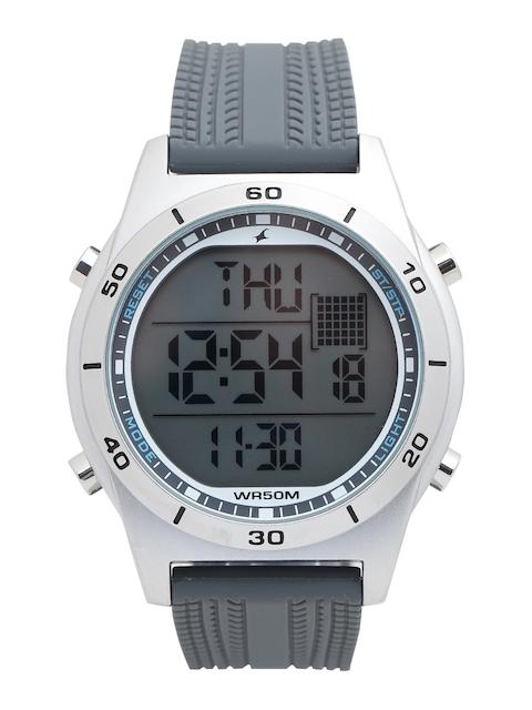Fastrack Men Grey Digital Watch 38033SP03