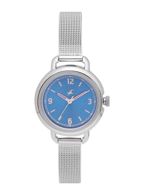 Fastrack Women Blue Analogue Watch 6123SM03_BBD
