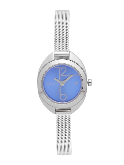 Fastrack Women Blue Analogue Watch NJ6125SM01C_BBD