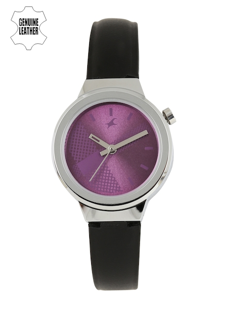 Fastrack Women Purple Analogue Watch NJ6149SL01