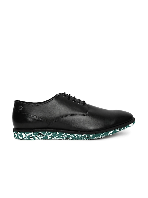 Jack & Jones Men Black Derbys