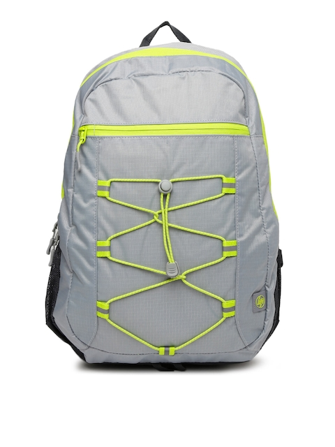 HP Unisex Grey HP 15.6 Active Solid Backpack