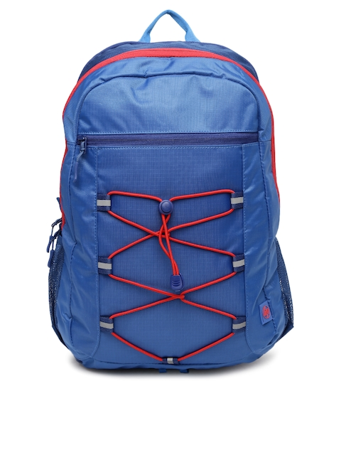 HP Unisex Blue HP 15.6 Active Solid Backpack