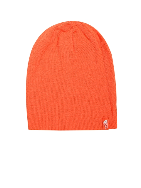 The North Face Women Orange Solid Beanie