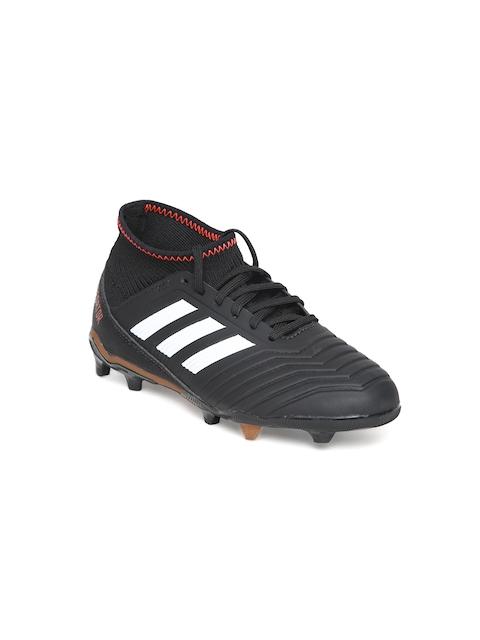 Adidas Boys Black Predator 18.3 FG Football Shoes