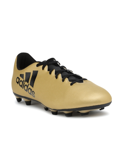 Adidas Men Gold-Toned X 17.4 FXG Football Shoes
