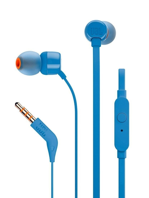 JBL Unisex Blue T110 In-Ear Headphones