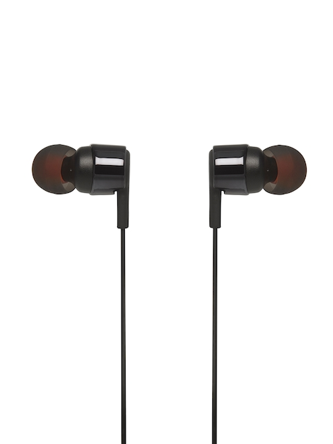 JBL Unisex Black In-Ear Headphones T210