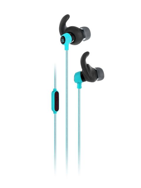 JBL Harman Green Reflect Mini Wired In-Ear Sport Headphones JBLREFMINITEAL