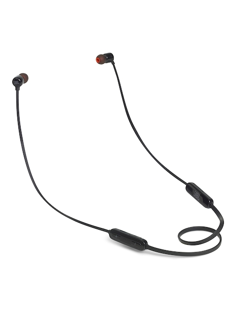 JBL T110BT Unisex Black Wireless In-Ear Headphones