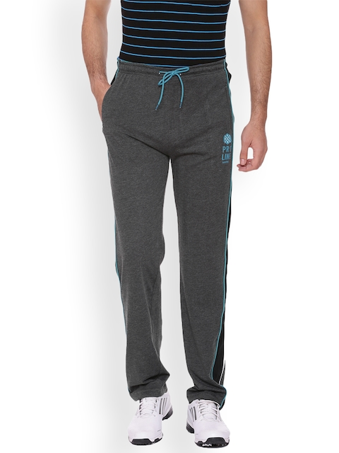 Proline Men Charcoal Grey Straight Fit Track Pants  available at myntra for Rs.594