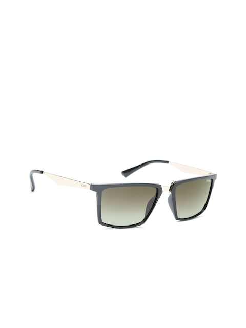 I DEE Men Rectangle Sunglasses EC145