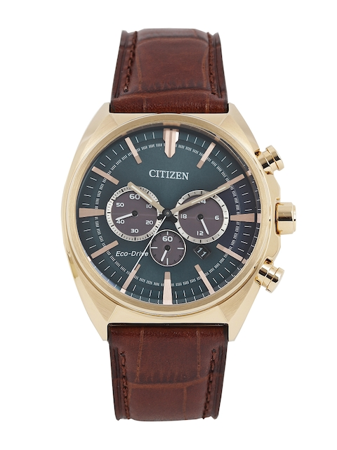 Citizen Men Blue Eco Drive Analogue Watch CA4283-04L