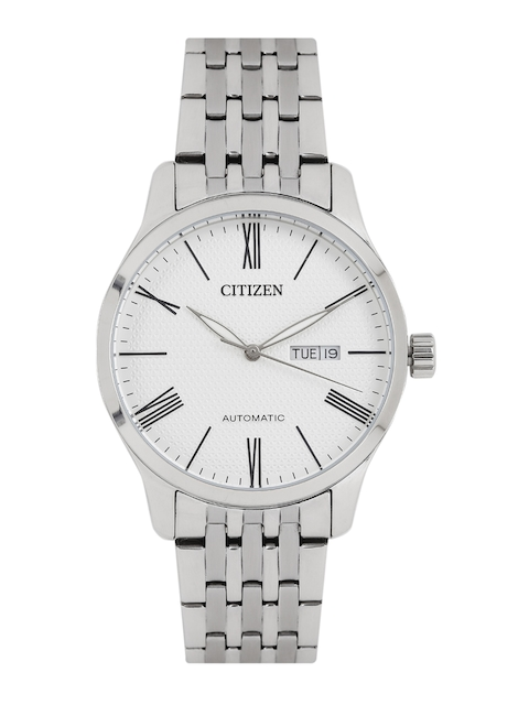 Citizen Men White Automatic Analogue Watch NH8350-59L