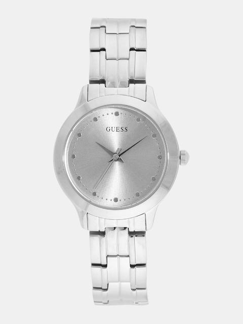GUESS Women Silver-Toned Analogue Watch W0989L1