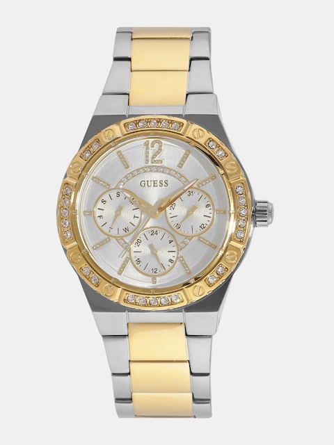 GUESS Women Off-White Multifunction Watch W0845L5-2