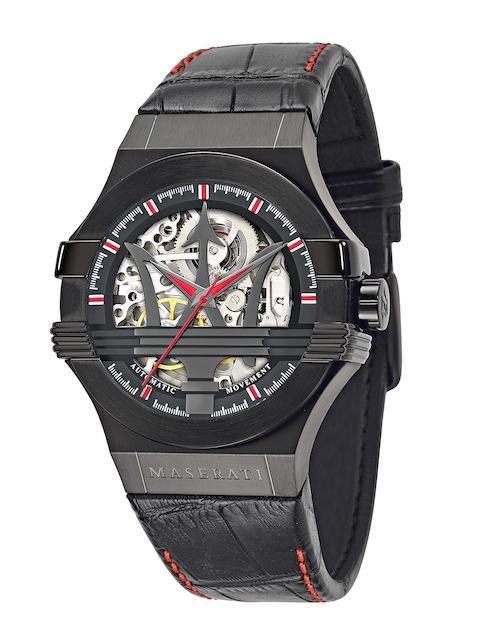 Maserati Men Silver-Toned Analogue Watch R8821108010