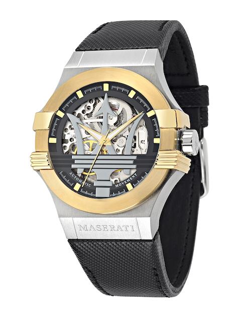 Maserati Men Silver-Toned Analogue Watch R8821108011
