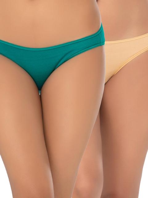 PrettySecrets Women Pack of 2 Bikini Briefs