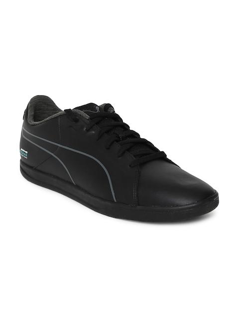 Puma Men Black MAMGP Court Sneakers