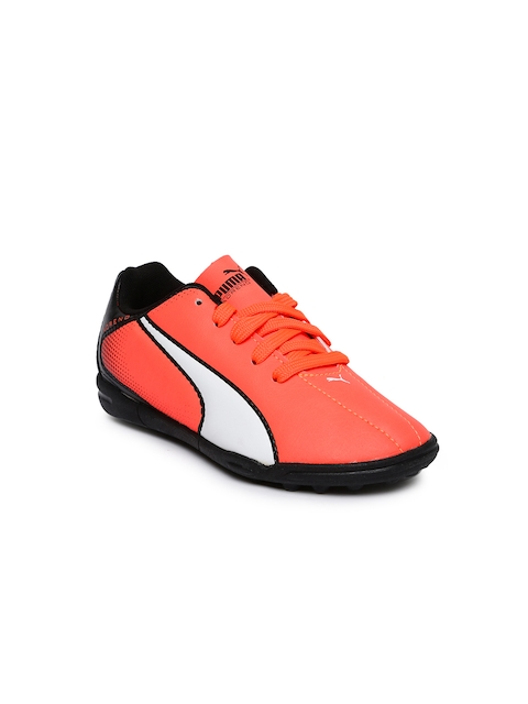 Puma Unisex Orange Adreno TT Jr Football Shoes  available at myntra for Rs.1624