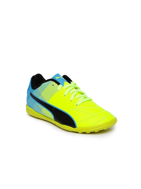 Puma Unisex Fluorescent Green Adreno II TT Jr Football Shoes  available at myntra for Rs.1624