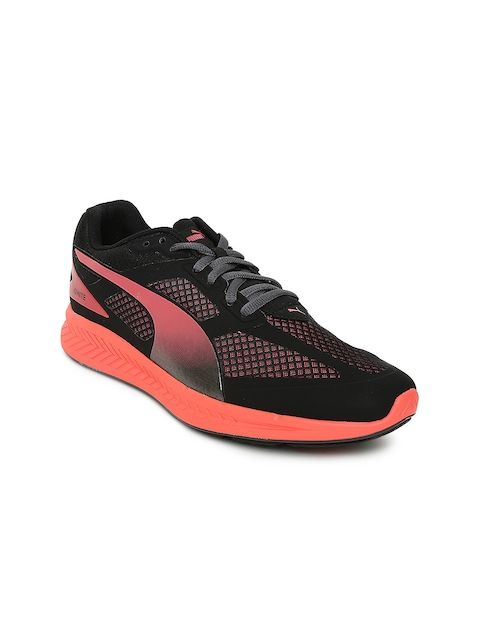 Puma Women Black Ignite Mesh Running Shoes
