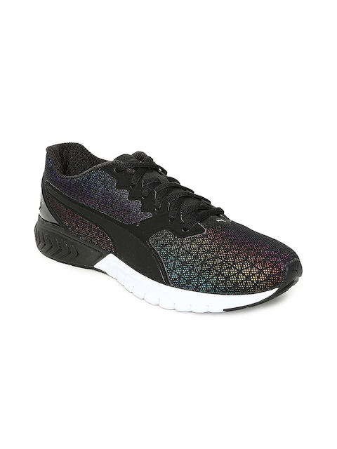 Puma Women Black IGNITE Dual Prism Running Shoes
