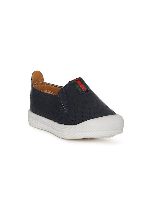 Kittens Boys Navy Slip-On Sneakers